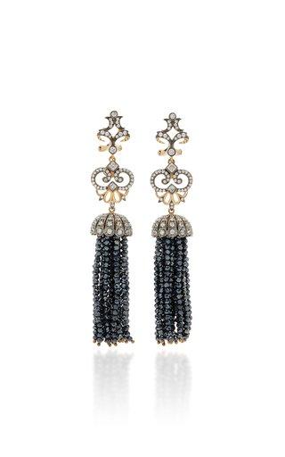 Midnight 18K Black Gold Vermeil Onyx, Diamond Earrings