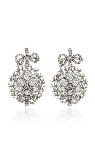 Mirage 18K Black Gold Vermeil Diamond Earrings
