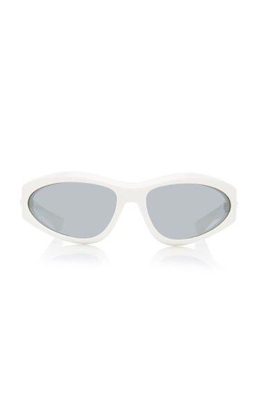 Exclusive Acetate Wrap-Around Sunglasses