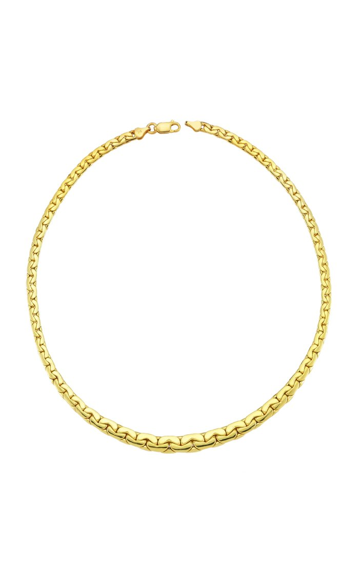 Bold Chain 14K Gold Necklace