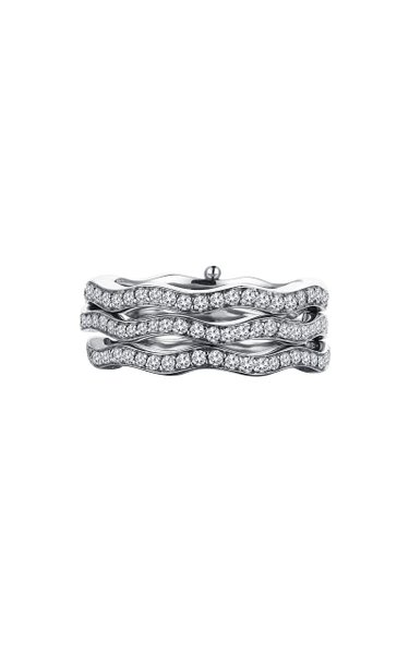 Cintemani 18K White Gold Diamond Ring