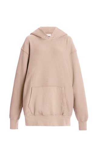 Classic Fleece Oversized Cotton Sweatshirt