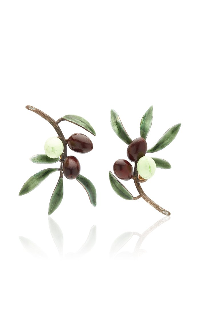 Olive Tree Earrings