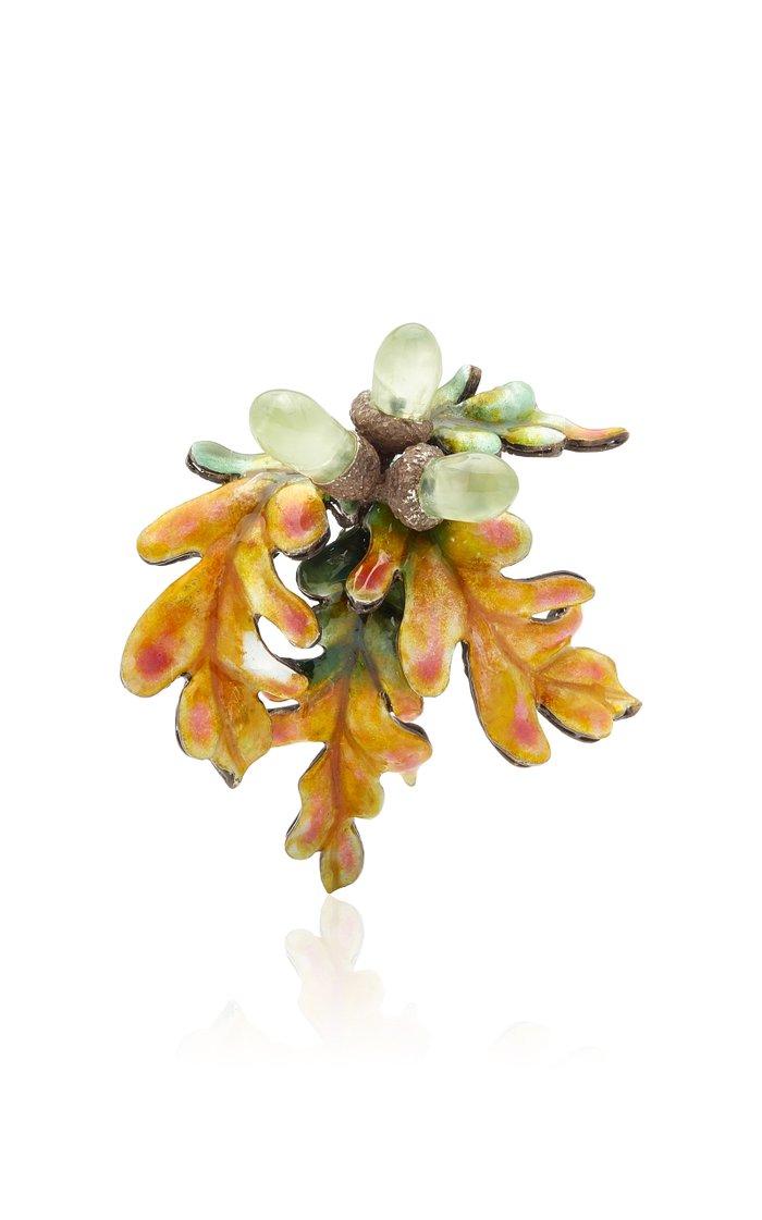 Oak Tree Brooch