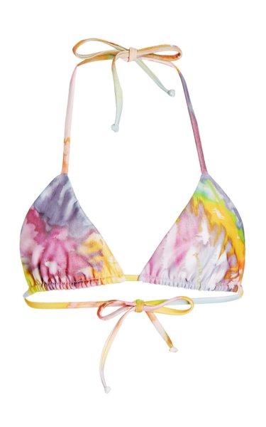 Rae Printed Bikini Top