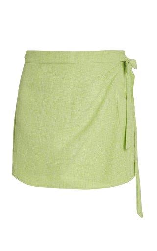 Fontana Tied Mini Skirt