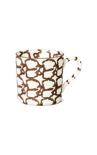 Spongeware Mug, Set Of Four