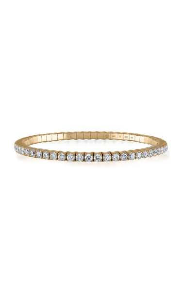 Fit For Life Jewels 18K Gold Diamond Bracelet