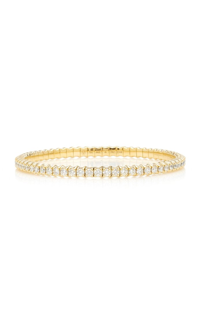 Fit For Life Jewels 18K Gold Diamond Bracelet