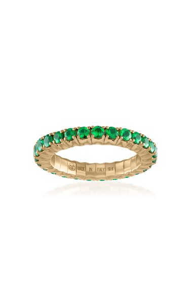 Fit For Life Jewels 18K Gold Tsavorite Ring