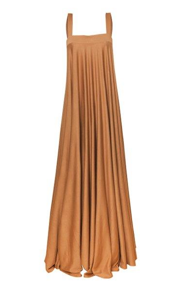 Narciso Sleeveless Stretch Crepe Maxi Dress