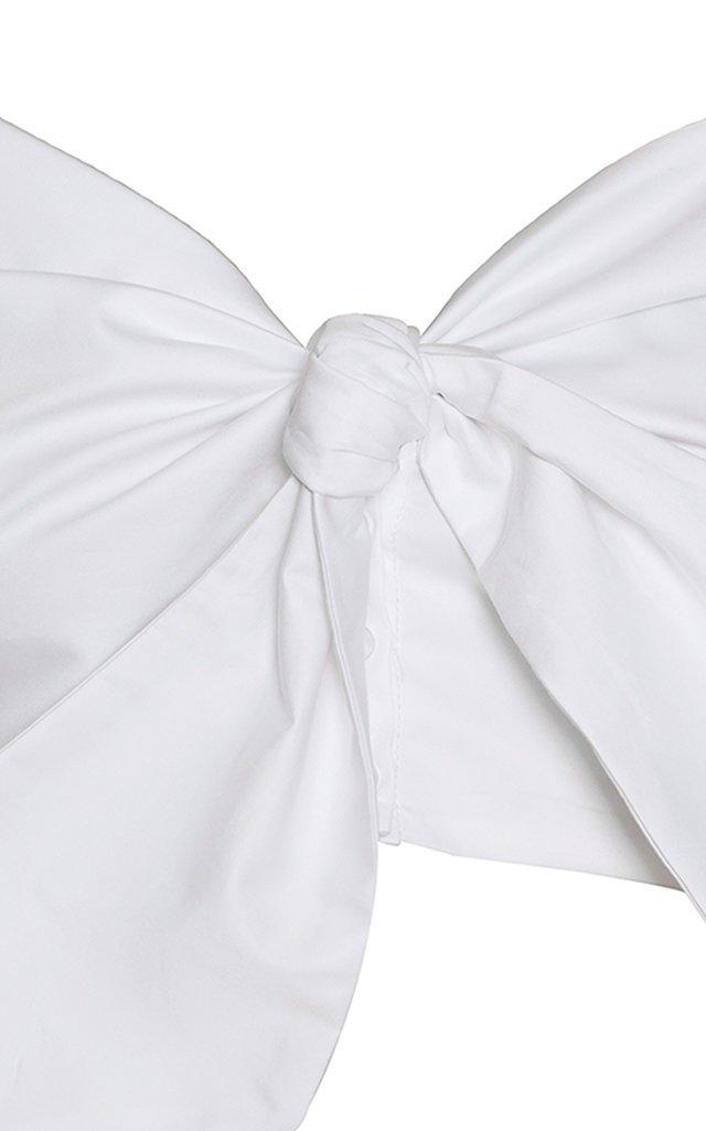 Emery Puffed Sleeve Cotton Blouse
