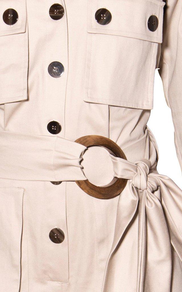 Valverde Belted Cotton Jumpsuit