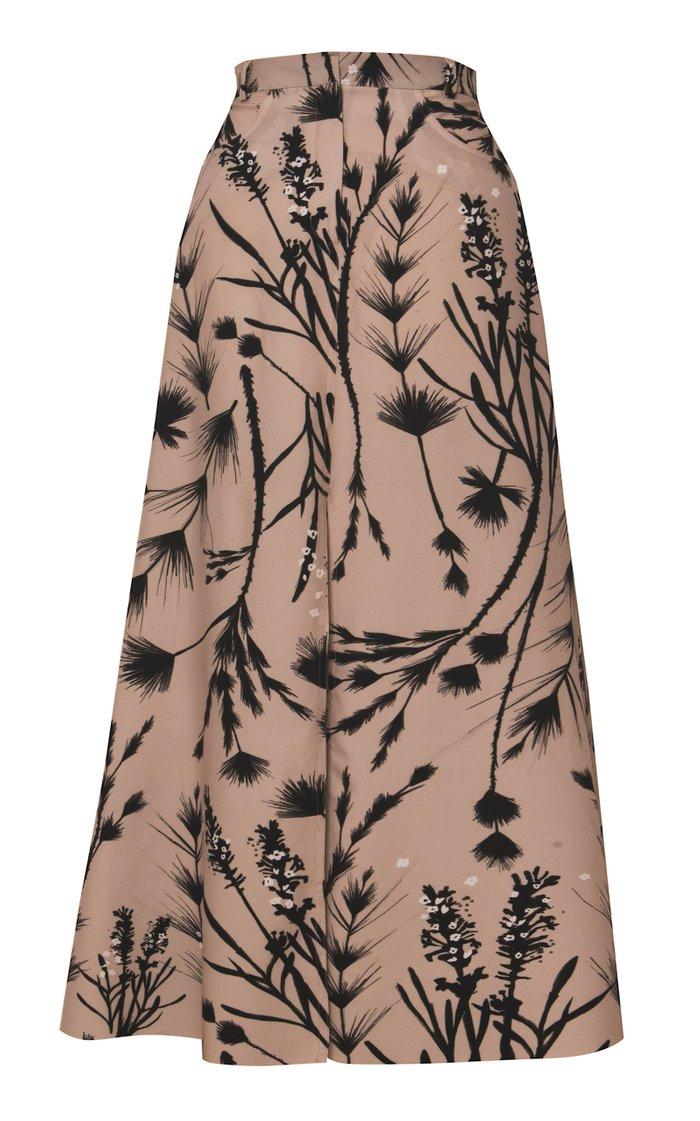 Dita Front Slit Maxi Skirt