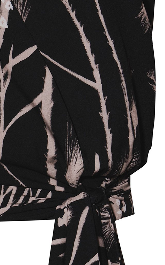 Aheli Printed Crepe Top