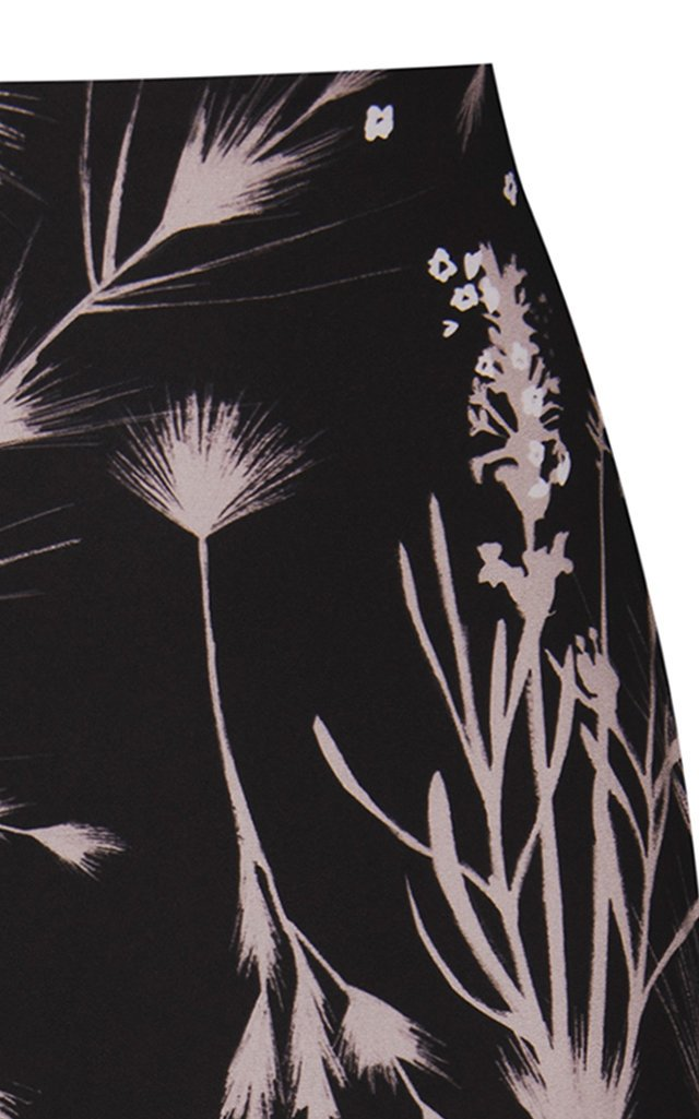 Delinda Crepe Maxi Skirt