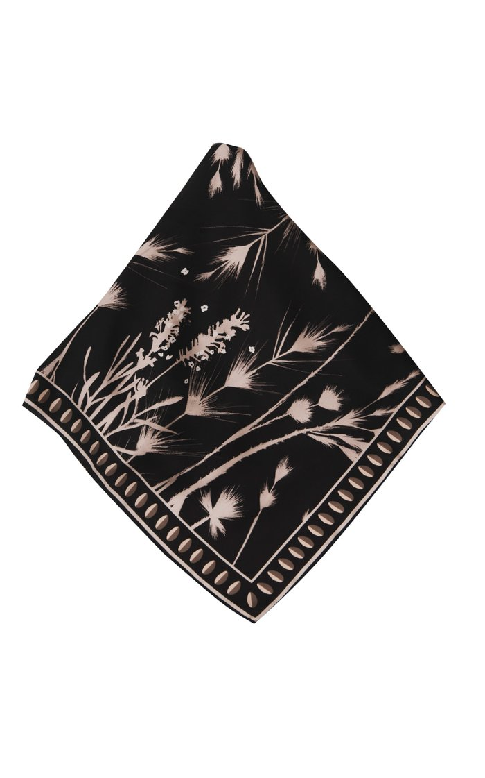 Aby Large Printed Scarf