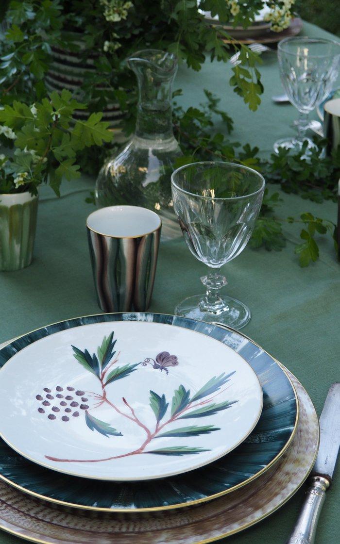 Jardins De Shalimar GM - Set of 4 Salad & Dessert Plates