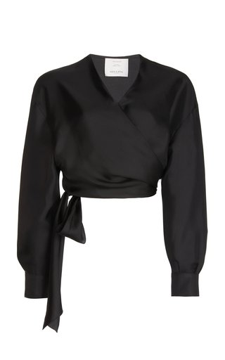 Elsa Silk Wrap Shirt