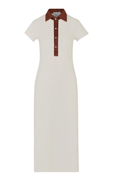 The Daphne Cotton Polo Dress