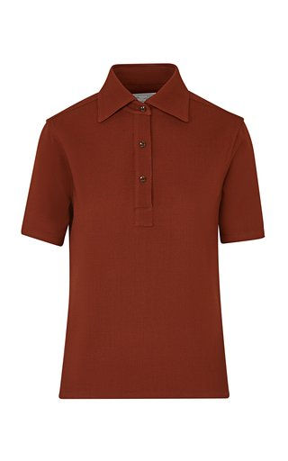 The Daphne Wool Polo Shirt