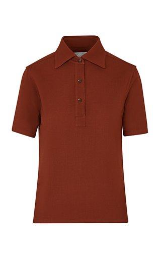 The Daphne Wool Polo Shirt