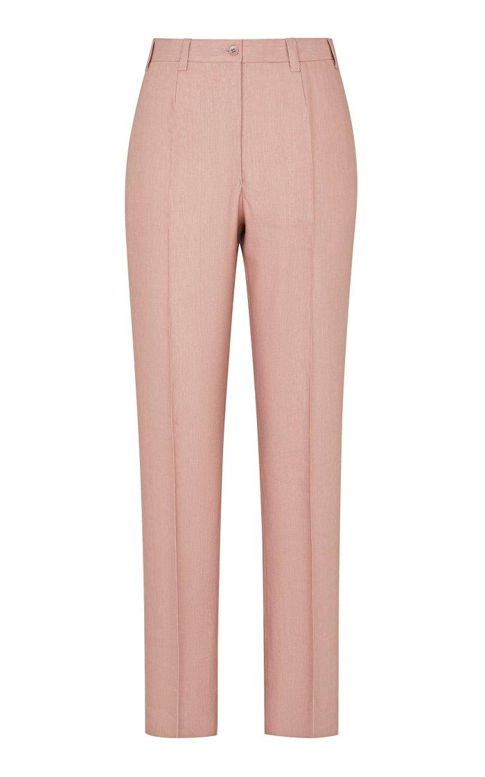 The Altea Linen-Wool Blend Trousers