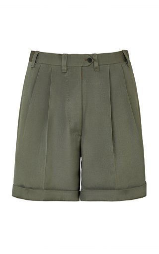 The Husband Silk Shorts