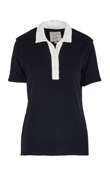 The Daphne Cotton-Blend Polo Shirt