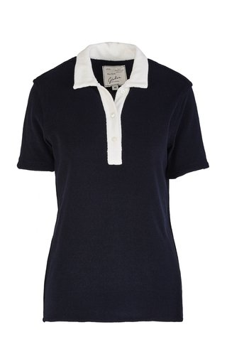 The Daphne Cotton-Blend Polo Shirt