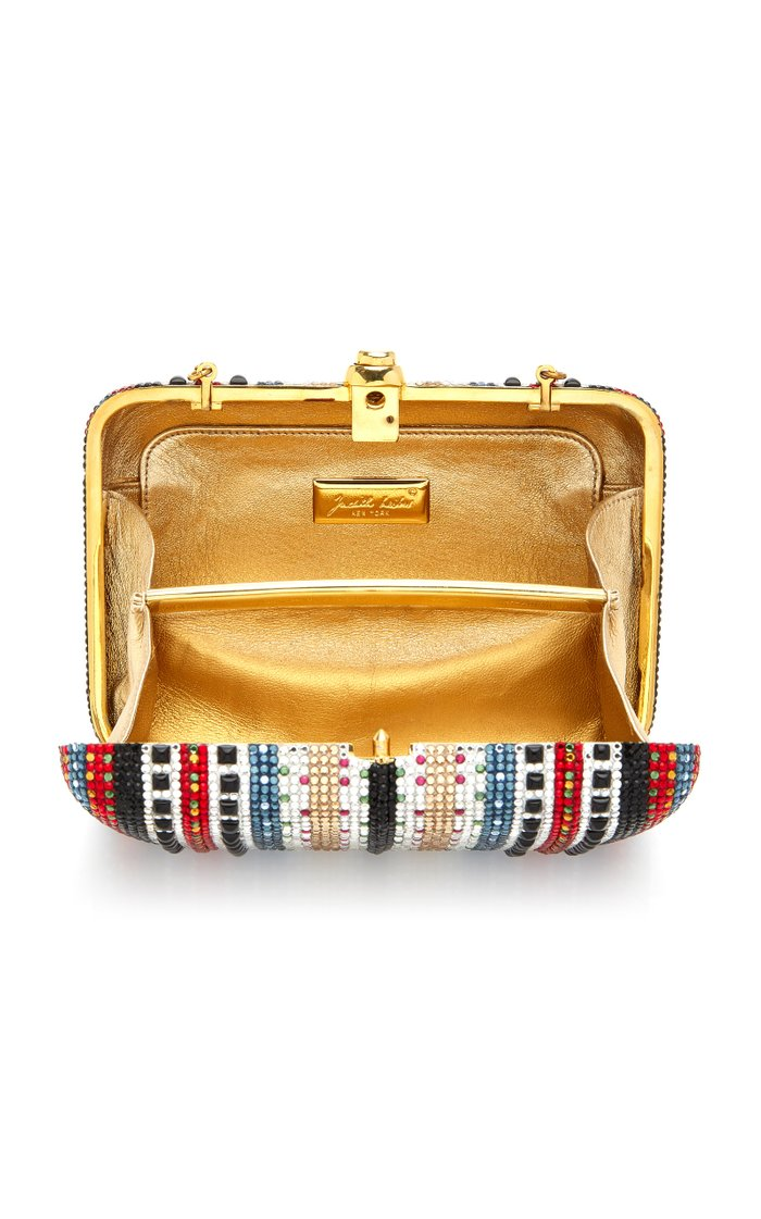 Vintage Mix Seamless Crystal Archive Clutch