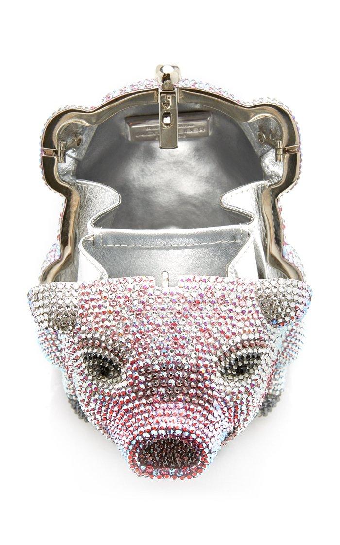 Wilbur Pig Crystal Novelty Clutch