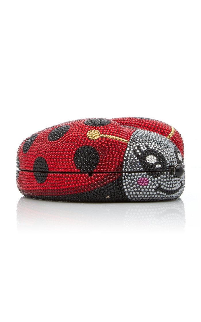 Cindy Ladybug Crystal Novelty Clutch
