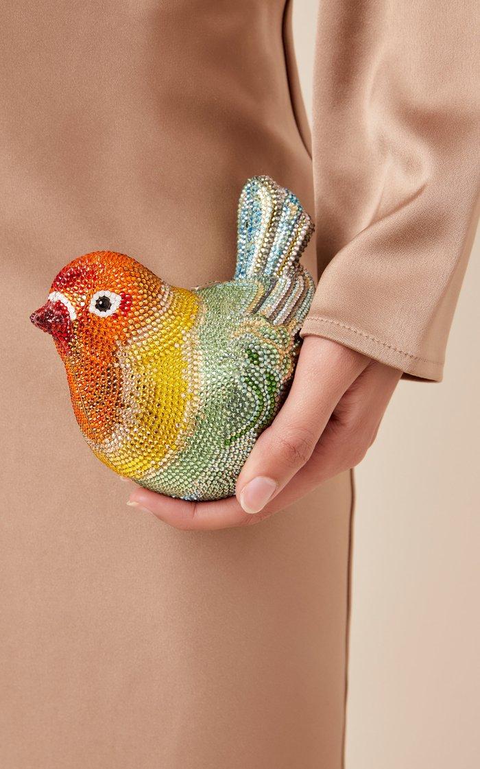 Love Bird Crystal Novelty Clutch
