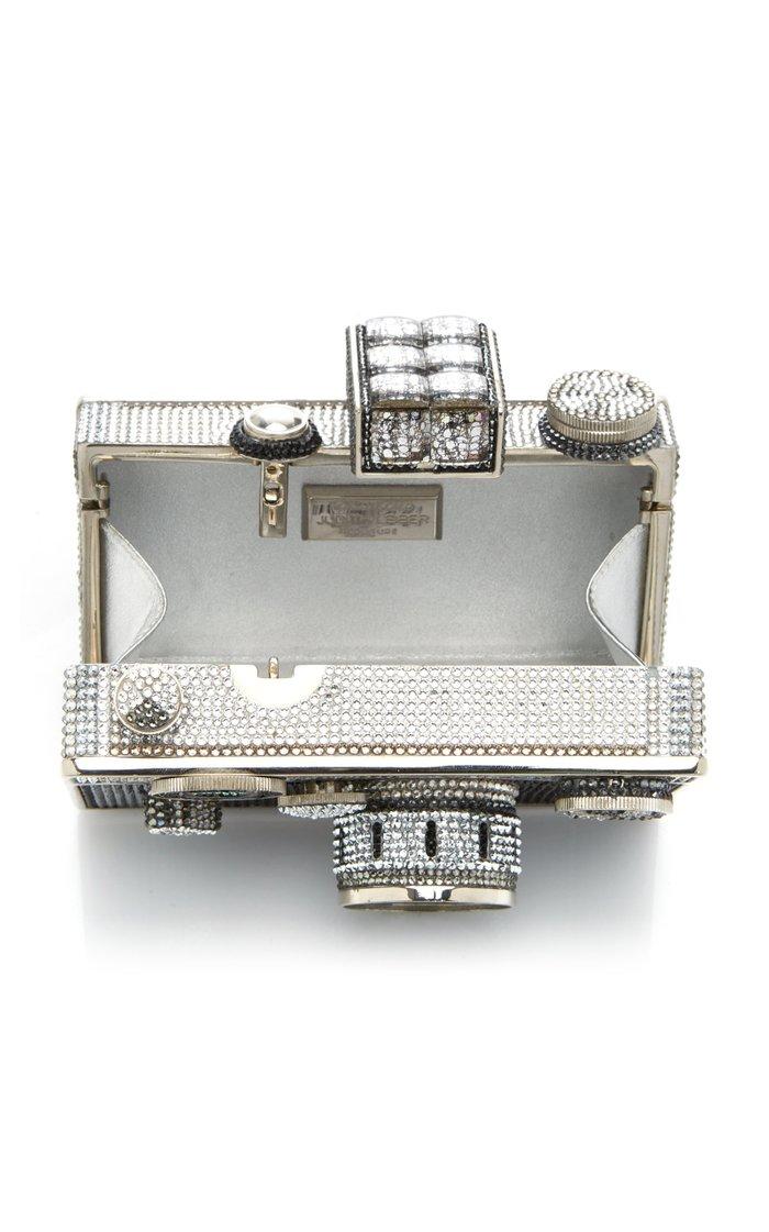 Camera Crystal Novelty Clutch
