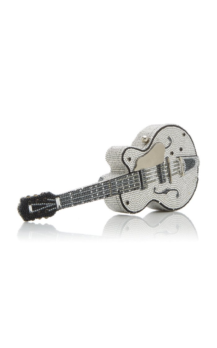 Rock 'N' Roll Guitar Crystal Novelty Clutch