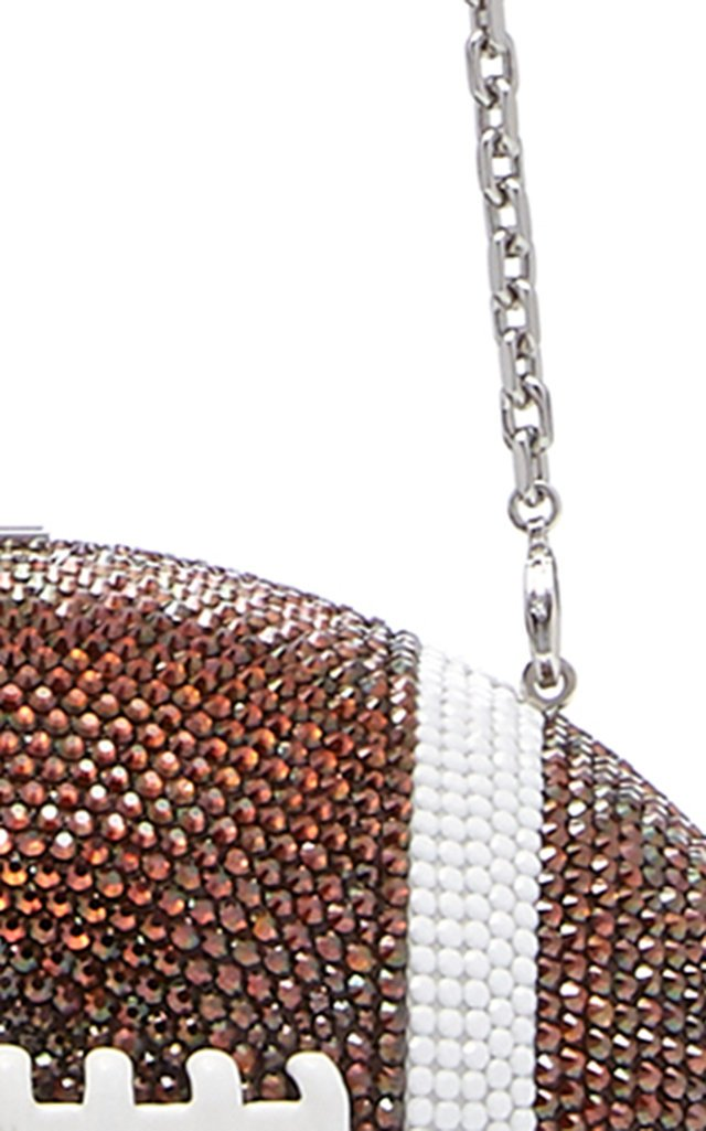 Football Crystal Novelty Clutch
