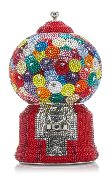 Gumball Machine Crystal Novelty Clutch