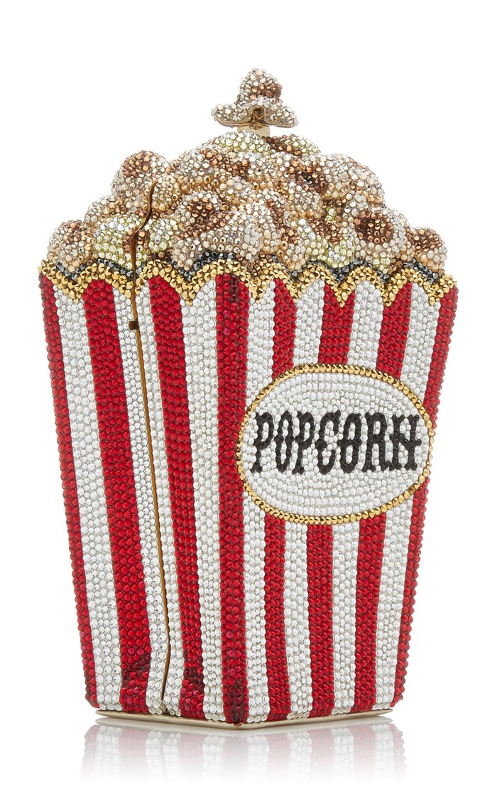Matinee Popcorn Crystal Novelty Clutch