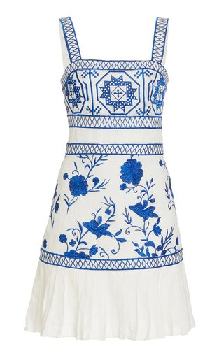Asteria Linen Mini Dress