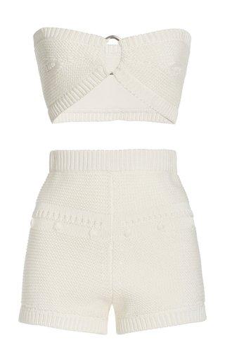 Kamea Cotton Bralette And Shorts Set