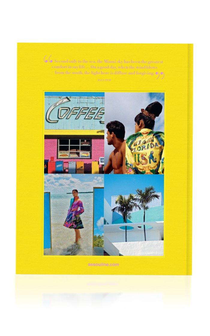 Miami Beach Linen-Hardcover Book