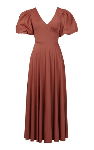 Exclusive Silvia Reversible Wrap Dress