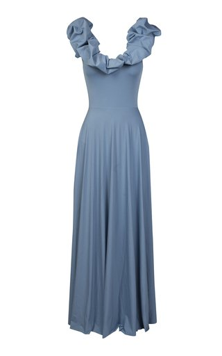 Exclusive Maria Reversible Lycra Maxi Dress
