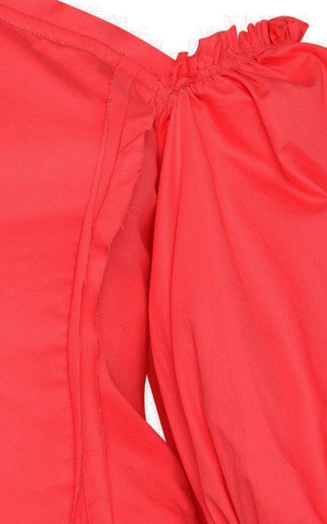Apres Asymmetric Linen Top