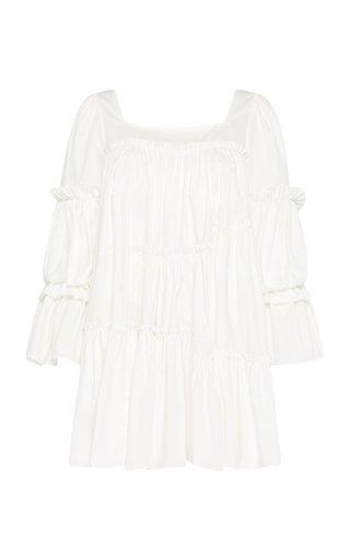 L'Espirit Tiered Cotton Mini Dress