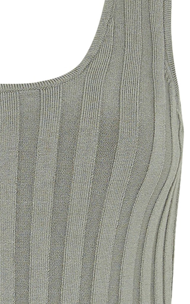 Overture Ribbed-Knit Tank Top