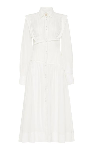 Utopia Cotton Midi Shirt Dress