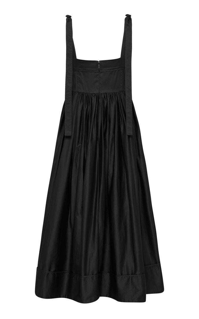 Savoy Cotton Midi Apron Dress