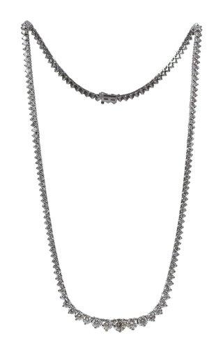 Riviera 14K White Gold Diamond Necklace